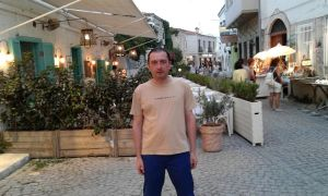 me at alacati by galopper