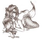 Beautiful, Dirty Fish graphite by chostopher