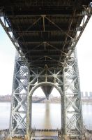 George Washington Bridge: UNdErNeAtH by HMoreng