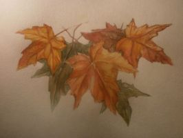 Uautumn leaves by AtMyHeart