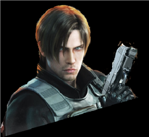 resident evil damantion leon by cristianredfield1998