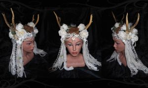 Forest Ice Queen Crown by BeatriceBaumann