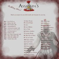 ASSASSIN'S CREED birthday edition by Theyllnevergetme