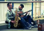 Buskers by trogdor7