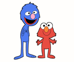 Muppet Monster Duo by Emjaidi