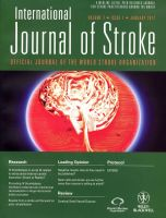 International Journal of Stroke 2012 cover design by amyhooton
