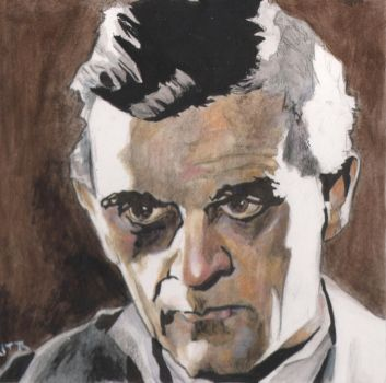 Karloff Portrait by monstercola