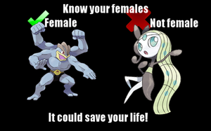 Pokemon Gender by Scarecrow113