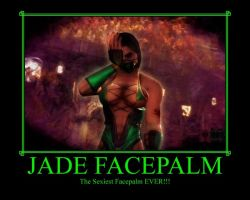 Jade Facepalm by IamSubZero