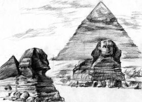 Pyramid Egypt! by RussellXie