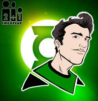 Green Lantern Icon Me by rubenslima