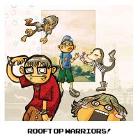 rooftop warriors by scrotumnose