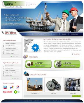 ARW Oiltools - Website by weathered83