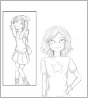 Maggie Pesky From 'The Buzz on Maggie' as a Human by Rosebud-Inc