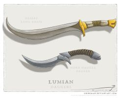 JS daggers set 01 by SirInkman