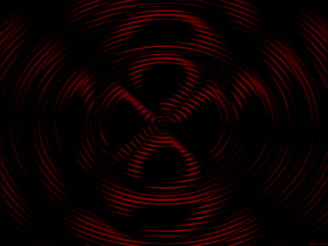 Red Diffraction Wave by Nano-Byte