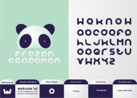 pandaman font by weknow by weknow