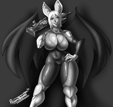 Human(?) Rouge by Pltnm06Ghost