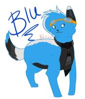 Blu the Cat by Khrys-Faolan