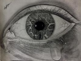 Eyes filled up with tears  by das60