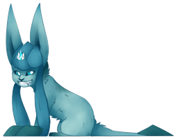 treasure the glaceon [ pokemon request ] by canine-rein