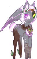 MLP cursed winghead pony auction 6 CLOSED by ElkaArt