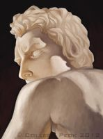 Bernini David study by WieldstheKey