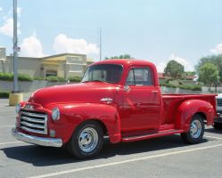 Red GMC by Cadha13
