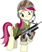 Roseluck Ready For Combat by RainbowRage12