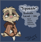 Pokesona : Slakoth by ElderLongo