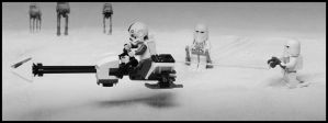 Downtime on Hoth. by SWAT-Strachan