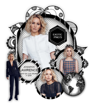 Pack Png 1358 // Jennifer Lawrence by ExoticPngs