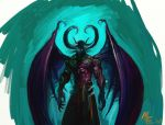 Lord Illidan Stormrage by Manufc1983