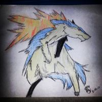 Beast Typhlosion by maxst5011