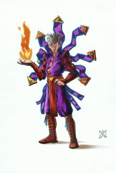 Fire master by Gadox