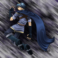 Supah Marth by cyborgraptor