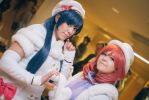 Love Live - Snow Halation: Umi and Maki by Meitalink