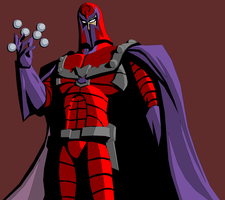 Crappy Magneto Playing With His Balls by Tyrranux