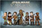KotOR: The Party by Isriana