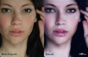 Before After Beauty H. by CecileVCreation
