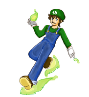 Luigi Brawl by 12luigi
