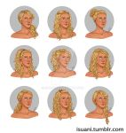 Annabeth hairstyles by Isuani