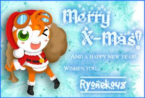 Merry X-Mas Everybody by RyoNeko48