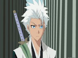 Toshiro Before Fight by modrzew91