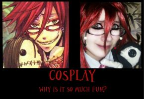 Cosplay Demotivational Poster by Kaizoku501