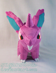 Nidoran Front View by sugarstitch