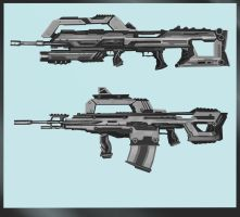Gun Design 2 by JasonClarkDesign