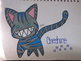 Cheshire Cat-Tim Burton Colors by CheshireCatMew