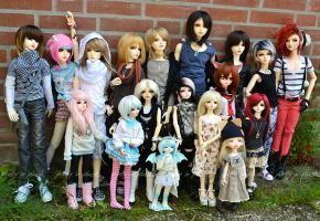 Dollmeet in the Netherlands x3 - 03 by prettyinplastic
