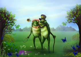 The Frogs by 8025glome